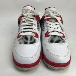 buy popular aaac9 75ba5 Nike Shoes | Air Jordan 4 Iv Retro White Varsity Red 6y | Poshmark